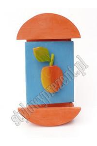 Skrzynka na klucze z jab�kiem